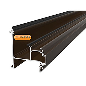 Alukap-SS Wall & Eaves Beam 3.0m Brown