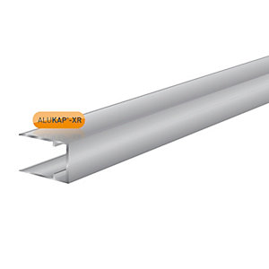 Alukap-XR 16mm Aluminium C Section 3m