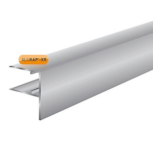 Alukap-XR 16mm Aluminium F Section 3m