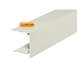 Alukap-XR 35mm End Stop Bar 3.6m White