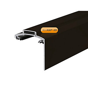 Alukap-XR 60mm Gable Bar Brown 4.8m