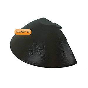Alukap-XR Ridge Radius End Cap Brown