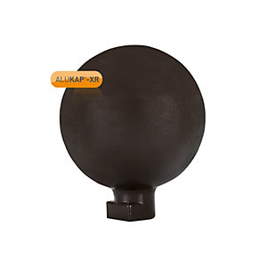 Alukap-xr 150mm Ball Finial Brown