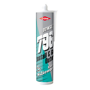 Dow Corning 796 Silicone Upvc Sealant Brilliant White 310ml
