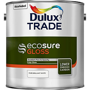 Dulux Trade Ecosure Gloss Pure Brilliant White 2.5L