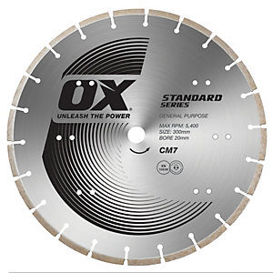 Spectrum Standard Series CM7 Diamond Blade Twin Pack - 300/20mm