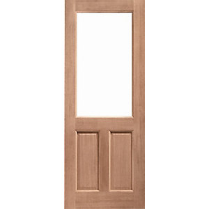 Hardwood 2XG Unglazed Door