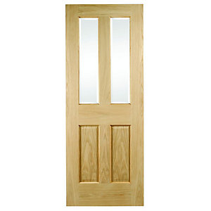 Hardwood Oak Malton Glazed Internal Door