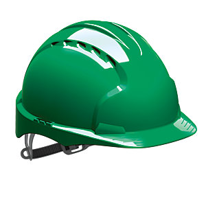 Jsp Evo 2 Vented Helmet Green Hard Hat