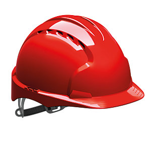 Jsp Evo 2 Vented Helmet Red Hard Hat