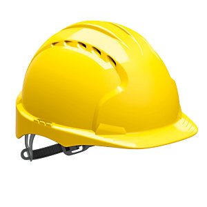 Jsp Evo 2 Vented Helmet Yellow Hard Hat