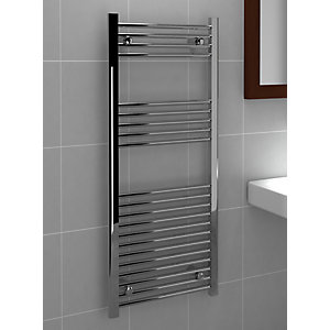Standard 22mm Towel Rail Straight Chrome 1200mm x 500mm
