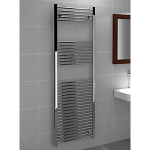 Standard 22mm Towel Rail Straight Chrome 1800mm x 600mm