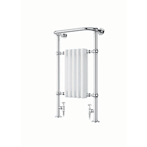 iflo Cereme Designer Towel Radiator White /Chrome 1510mm x 510mm
