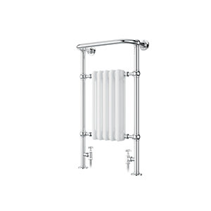 iflo Cereme Designer Towel Radiator White/Chrome 960mm x 510mm
