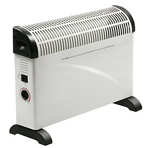 Rhino Silent Convector Heater 2kW