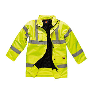 4Trade Motorway Jacket High Visibility Size M