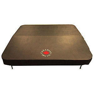 Brown 80 x 80in / 203 x 203cm Hot Tub Cover  KC-10002