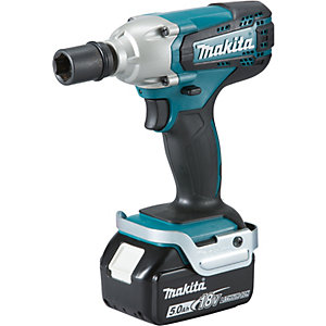 Makita Lxt 18v Cordless Impact Wrench 2 X 4 0ah Li Ion Batteries Dtw190rmj