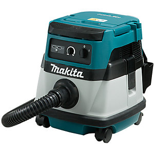 Makita Twin 18V Or 110V, Corded Or Cordless Dust Extractor L-class 8L Body Only Dvc 861LZ/1