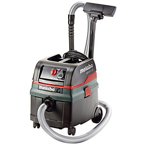 Metabo ASR 25 L SC Wet and Dry Vacuum Cleaner (Dust Class L) (110 V)