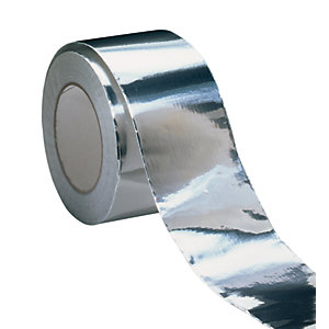 Visqueen Foil Back Girth Tape 75mm x 50m