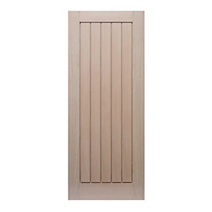 Hardwood Oak Suffolk Internal Door 1981mm x 762mm x 35mm