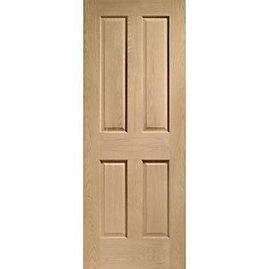 Hardwood Oak Victorian Internal Door 2032mm x 813mm x 35mm
