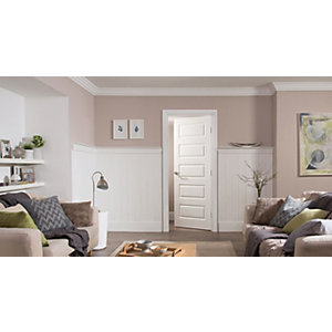 Internal Moulded 5 Panel Smooth Midweight Door Winterspec 1981mm x 838mm x 35mm