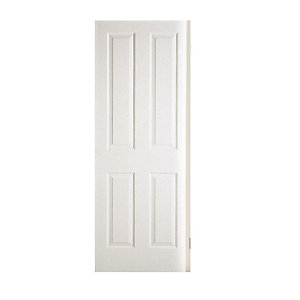 Moulded 4 Panel Grain Hollow Core Internal Door 2032mm x 813mm x 35mm