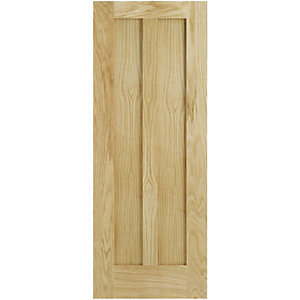 Internal Oak 2 Panel FD30 Fire Door