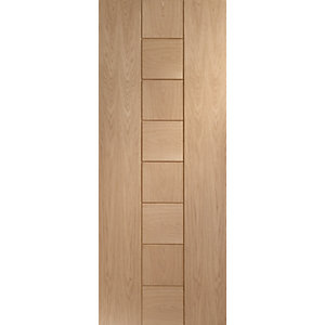 Internal Oak Veneer Messina Door