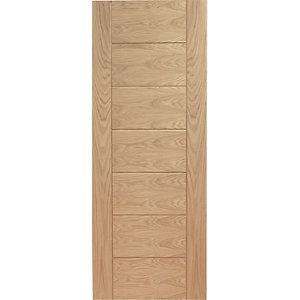 Internal Oak Veneer Palermo Fire Door