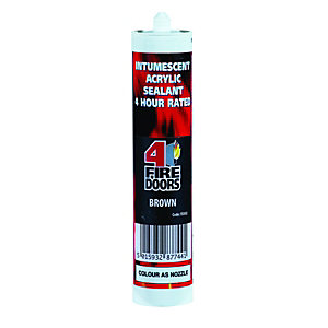 4Fire Intumescent Sealant Brown