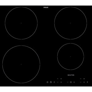 Neue 60cm 4 Ring Induction Hob Touch Control Black Frameless - IH601FL