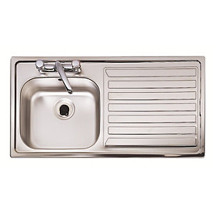 Eclipse 1.0B Rh Stainless Steel Inset Sink