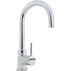 iflo Aura Swan Neck Monobloc Kitchen Tap
