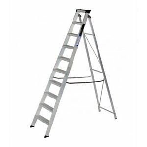 Step Ladder 10 Tread Alloy