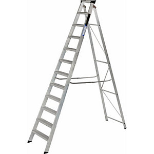 Step Ladder 12 Tread Alloy