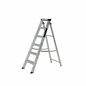 Step Ladder 6 Tread Alloy