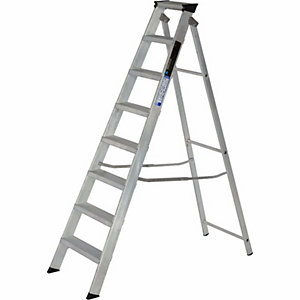 Step Ladder 8 Tread Alloy
