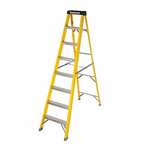Step Ladder 8 Tread Fibre Grp