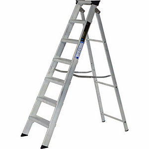 Step Ladder 7 Tread Alloy