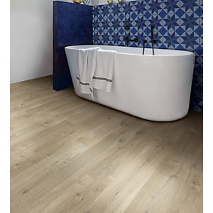 Quick Step Impressive Soft Oak Light Brown Laminate Flooring 8mm 1.835m2/PK IM3557