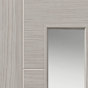 Lava Internal Laminate Prefinished Glazed Door