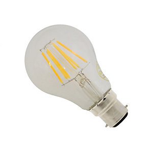 Casell LED Dimmable Classic Shape Gls Bulb 8W BC Cap