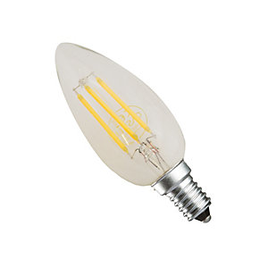 Casell LED Dimmable Filament Candle Bulb 4W Small Screw in             Cap