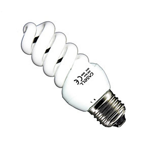 Casell Spiral Energy Saving Screw Cap Bulb 11W