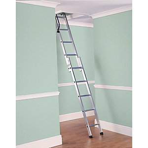 Lyte-up 2 Section Easiloft Aluminium Loft Ladder