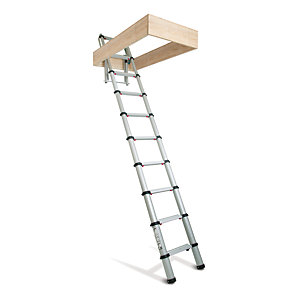 Lyte-up Telescopic Loft Ladder 2.6m